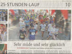 25 h Lauf Kurier (12.09.2016)