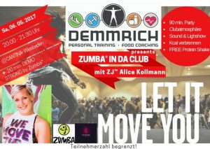 Flyer Zumba® IN DA CLUB_final 2.0