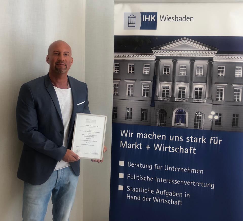 25 Jähriges Jubiläum Demmrich Fitness Wiesbaden IHK